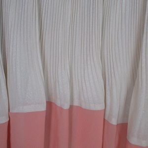 LC Lauren Conrad Skirts - Lauren Conrad two tone glitter skirt pleated Sz S